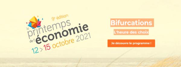 9e édition Printemps de l'économie du 12 au 15 octobre 2021
